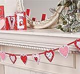 Layered Heart Garland - Party & Valentine's Day Decor