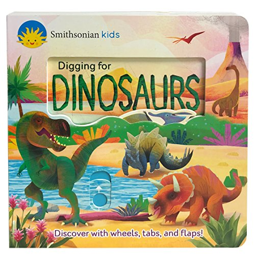 - Smithsonian Kids: Digging for Dinosaurs (Deluxe Multi Activity Book)