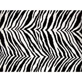 Zebra Futon Cover Twin Size, Proudly Made in USA