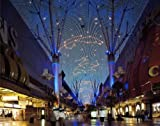 Photography Poster - Downtown 'Fremont Street Experience' light show Las Vega...
