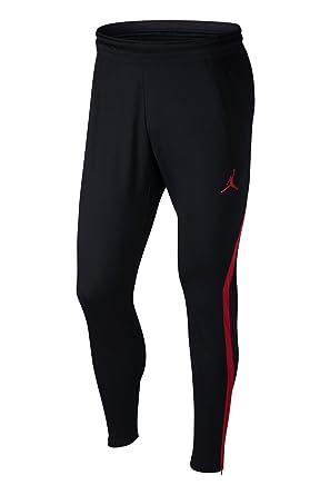 277d96e7de787 Image Unavailable. Image not available for. Color: Nike Mens Jordan 23  Alpha Dry-Fit Athletic Fit Training Pants Black/Gym Red
