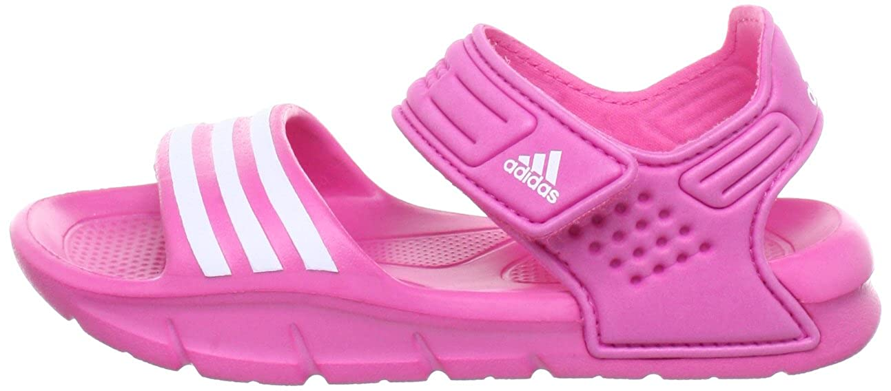 the latest 54b54 9b974 adidas Akwah 8 Q22613, Sandali unisex bambino, Rosa (Pink (ULTRA PINK  S12RUNNING WHITE FTWULTRA PINK S12)), 35 Amazon.it Scarpe e borse