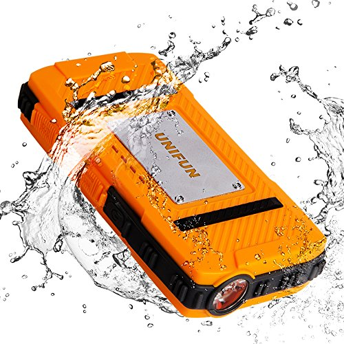 Unifun 10400mAh Waterproof External Battery Pow...