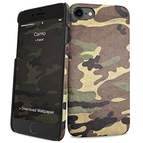I-Paint Coque pour iPhone 7 Motif Camo