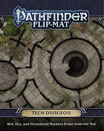 Map Flip (Pathfinder Flip-Mat: Tech Dungeon)