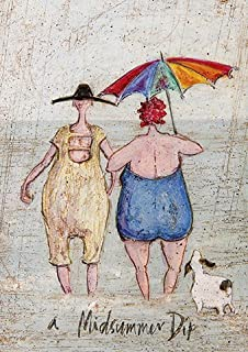 Yay sam toft open greeting card st983 amazon office a midsummer dip sam toft open greeting card st2242 m4hsunfo