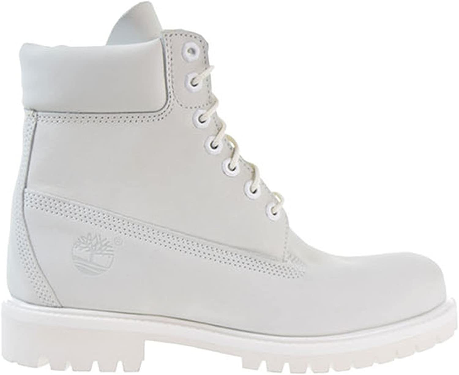 Inch Waterproof Mens Boots Ghost White