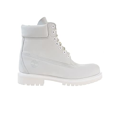 bdde8973976a Timberland 6 Inch Waterproof Mens Boots Ghost White Waterbuck a1m6q (9.5  D(M)