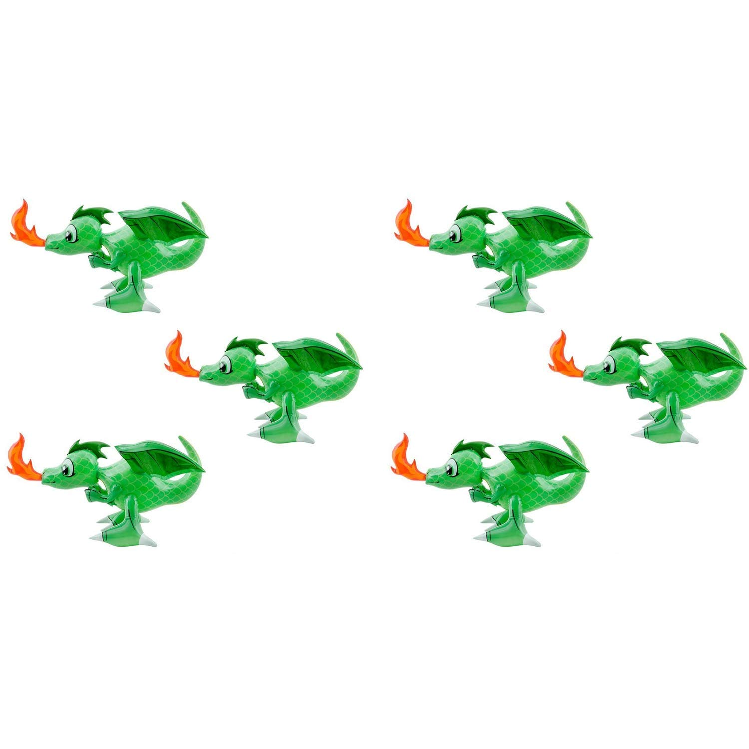 Rhode Island Novelty Dragon Inflate | 30-Inches | 6-Pack by Rhode Island Novelty