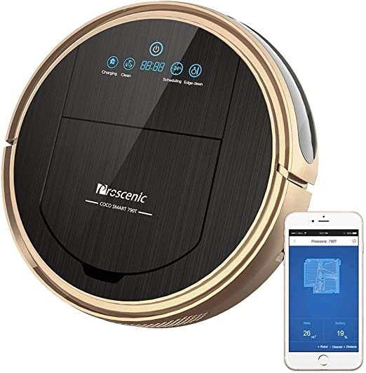 Robot Aspirador Robot Aspirador con App y Alexa Control de Voz ...