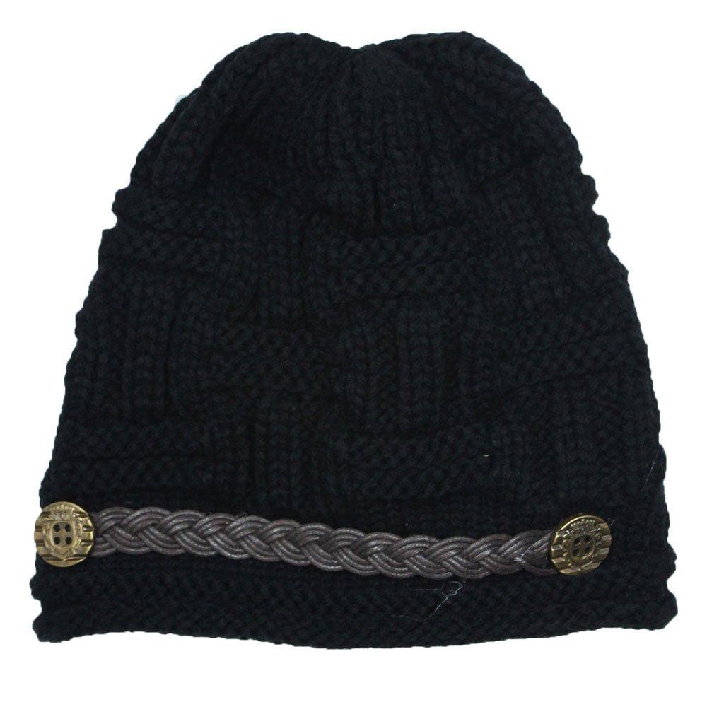 22553d340bc Women knit snow hat winter snowboarding beanie crochet cap black clothing  jpg 1000x1000 Snowboarding beanies for