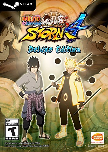 NARUTO SHIPPUDEN: Ultimate Ninja STORM 4 Deluxe Edition [Online Game Code] by Bandai