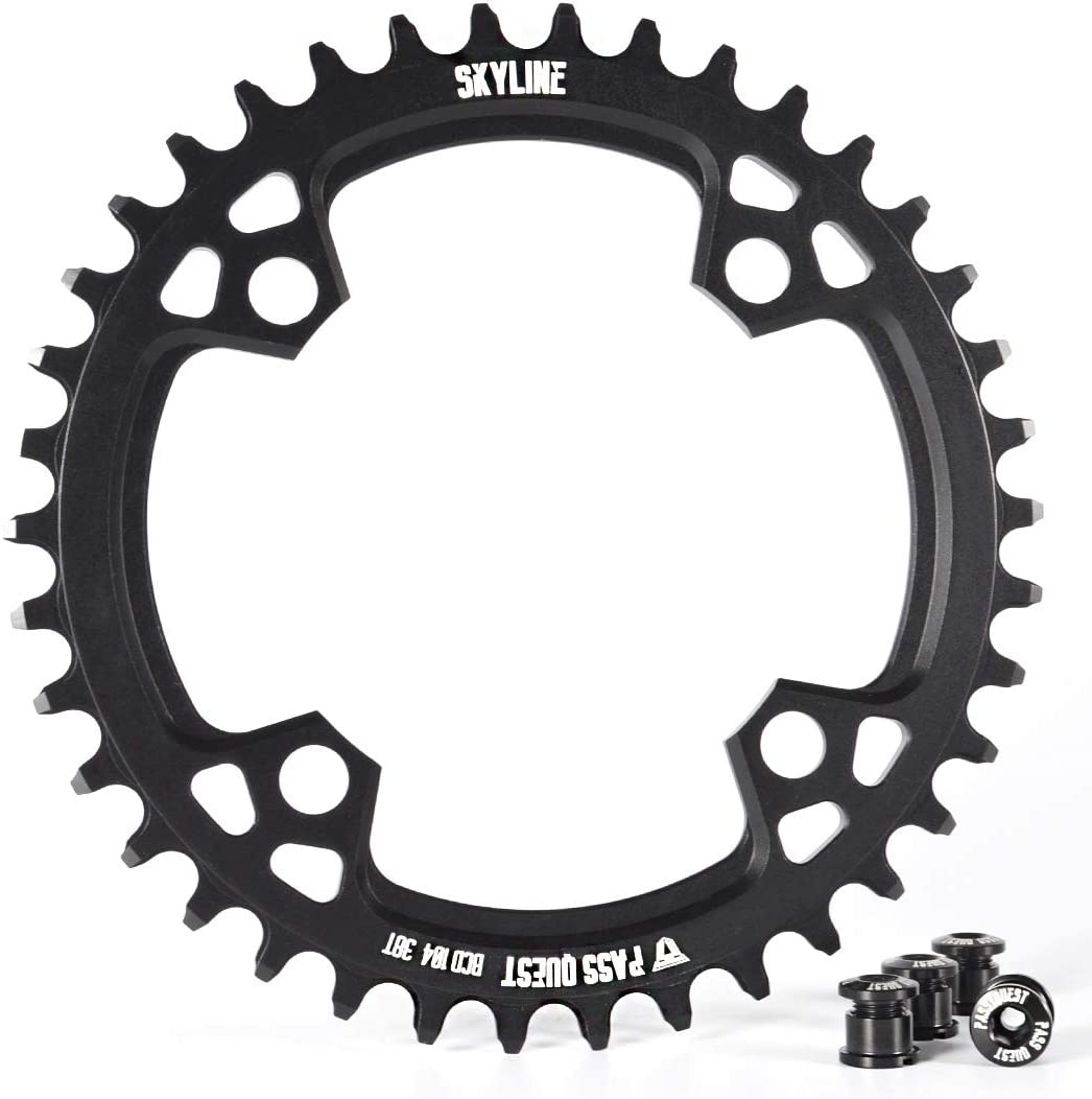 PASS QUEST 104BCD MTB Narrow Wide Chainring/Chain Ring 32T-40T Bike Bicycle Chainwheel/Chain Wheel deore Crankset
