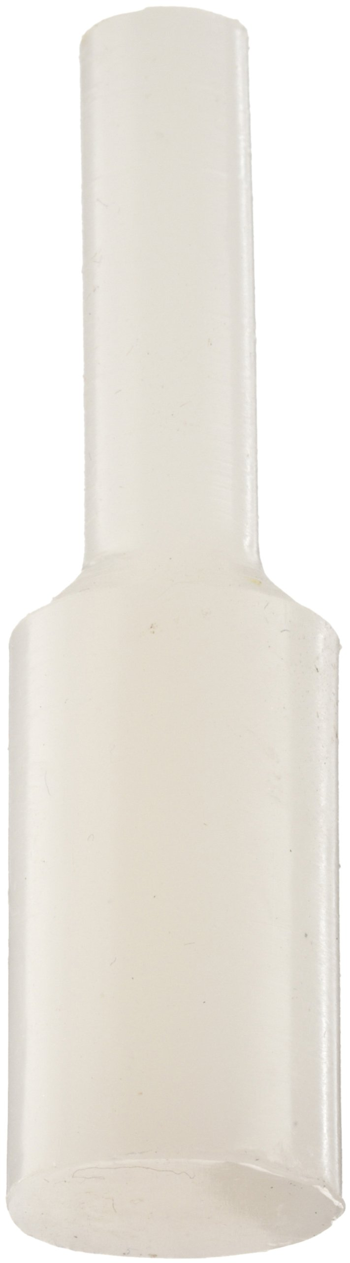 Kapsto 606 / 0196 Silicone Pull Plug, Natural, 19.6 mm (Pack of 100)