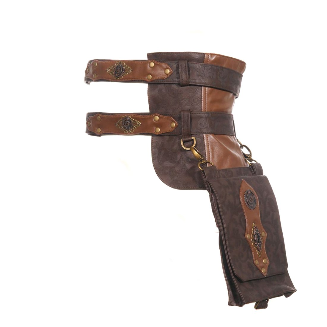Steampunk Cosplay Steam Punk Clothing Leather Utility Belt Girls Messenger Bags
