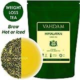 Green Tea Leaves from Himalayas (50 Cups), 100% Natural Weight Loss Tea, Detox Tea & Slimming Tea - POWERFUL ANTI-OXIDANTS - Brew Hot Tea, Iced Tea or Kombucha Tea - Low Caffeine + High Energy Tea