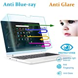 "2 Pack Anti Blue Light Anti Glare Screen Protector Fit 11.6"" Lenovo Chromebook C330 Eyes Protection Filter Reduces Digital Eye Strain Help"