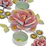 Handmade Colurful Christmas Diyas Candle Tea Light Holders Rangoli Decorations - Perfect for Everyday Decor