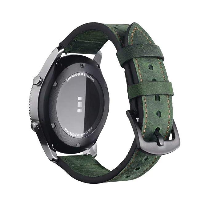 Correa de Reloj para Samsung Gear S3 - Frontier Classic Band ...
