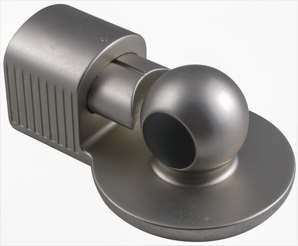 Master Lock 377KA silver gooseneck trailer lock