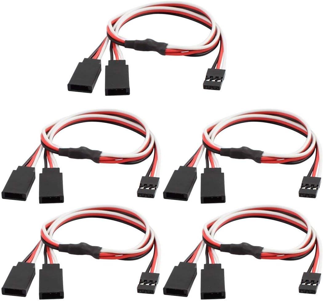 ZealMax 5 piezas M/F JST Y Cable divisor de conector para RC ...