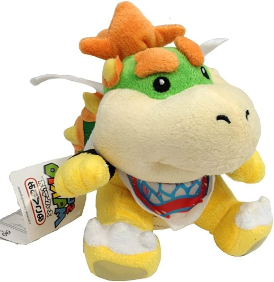 Bowser Jr Plush 7 Discontinued By Manufacturer