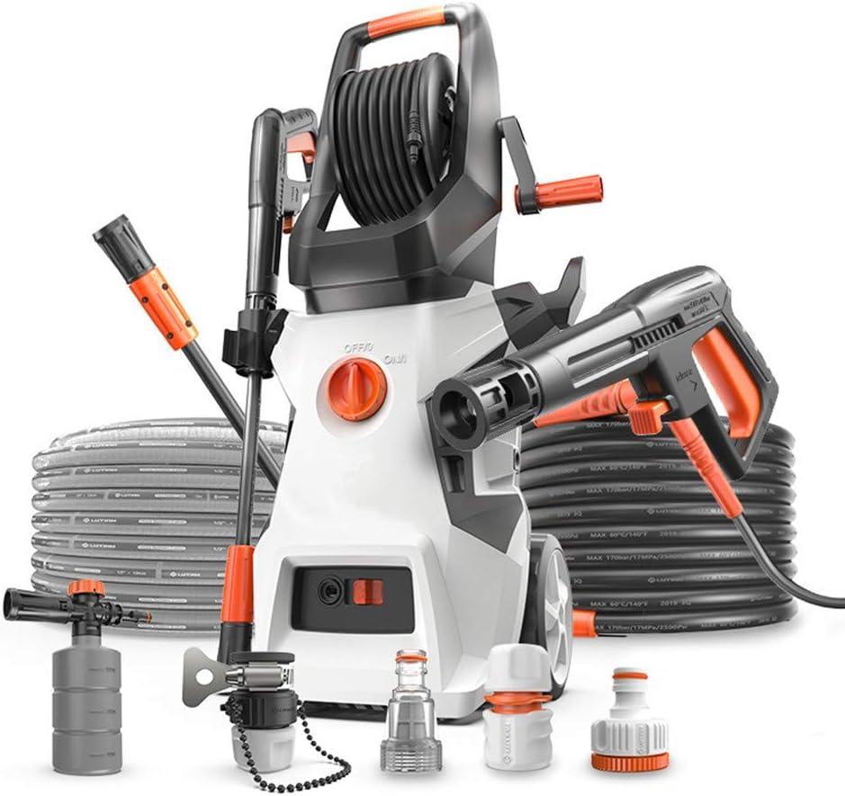NANDAN 1900W 160Bar 10L / Min Lavadora de Alta presión, Portable Profesional de la Lavadora eléctrica, Coche/Terraza/Jardín Lavadora para el hogar/jardín Calzada