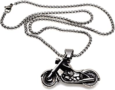collier motard homme