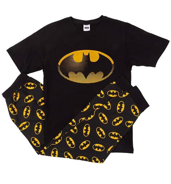 IndieGo Distribution Ltd Mens Batman Pyjamas: Amazon.es ...