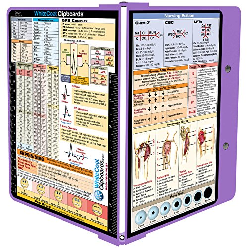 Whitecoat Clipboard Lilac Nursing Edition product image