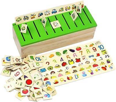 80 Piezas (8 Categoría) Juguetes Juegos Educativos Apredizajes ...
