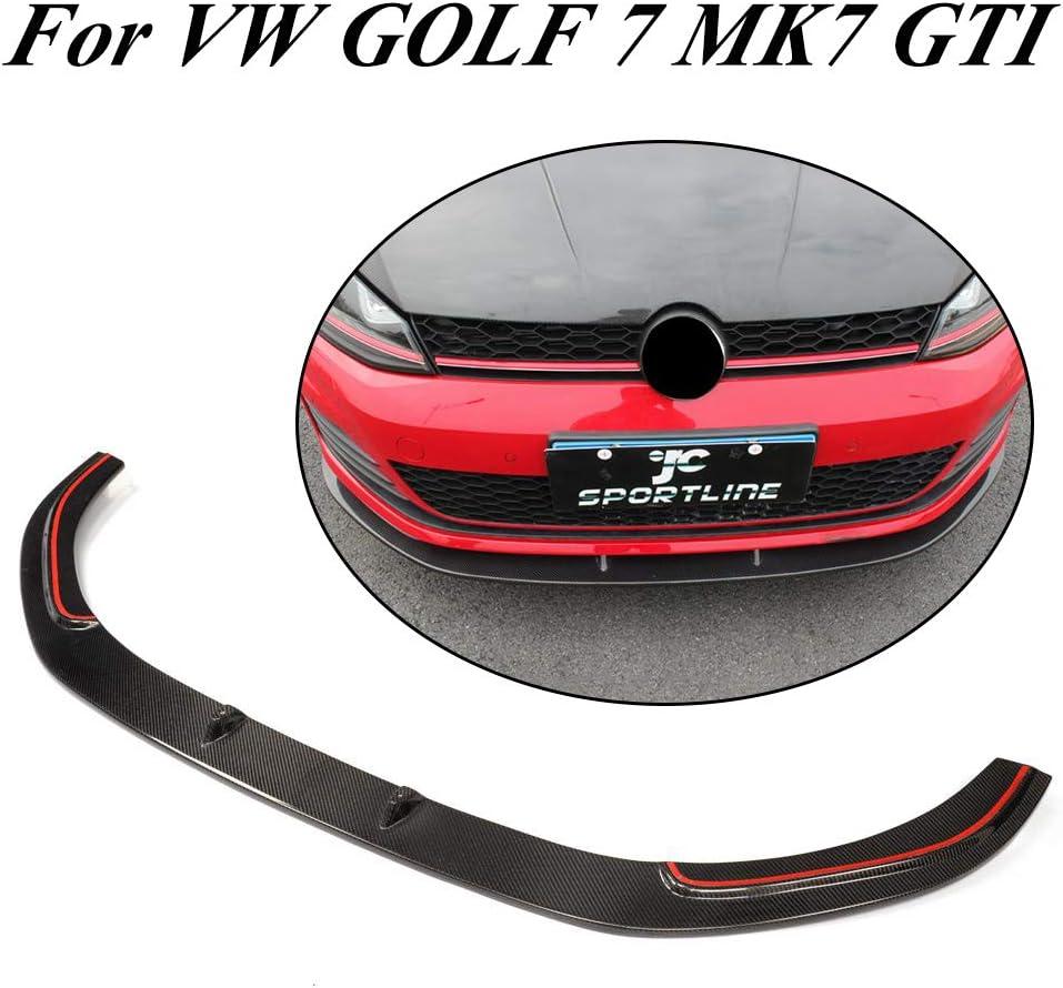 Jcsportline Echt Carbon Tuning Frontspoiler Stoßstange Lippe Spoiler Von Für Golf Vii 7 Mk7 Gti Bumper 2014 2016 Auto