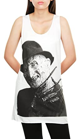 Topcloset Womens Freddy Krueger Horror Film Movie Tank Top ...