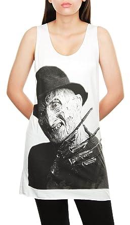 Topcloset Womens Freddy Krueger Horror Film Movie Tank Top ...