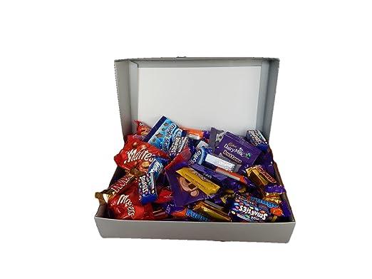 Cadbury mega treat chocolate gift box selection box with 80 cadbury mega treat chocolate gift box selection box with 80 treatsize bars great christmas negle Image collections