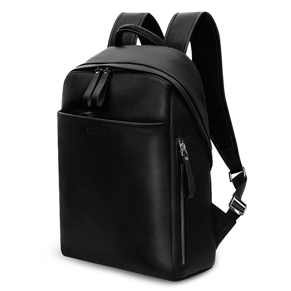 本革 リュック バックパック メンズ レディース レザー 黒   B01N655Z8P