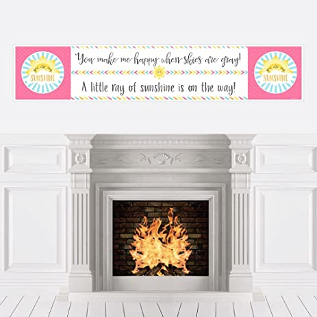 You Are My Sunshine   Baby Shower Decorations Party Banner