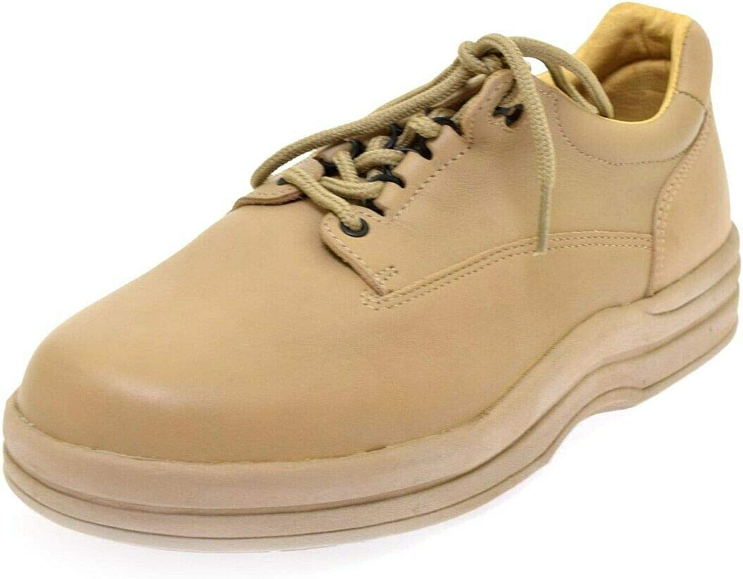 Orthopedic Shoes Taupe Blucher 9 M Lace