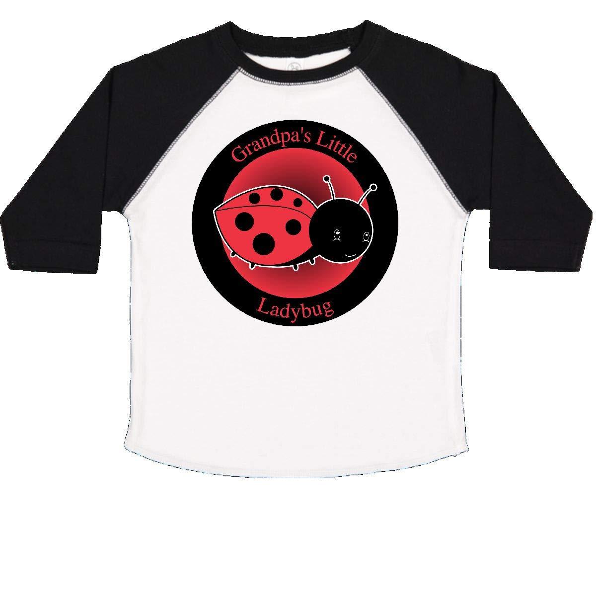 inktastic Grandpas Little Ladybug Toddler T-Shirt