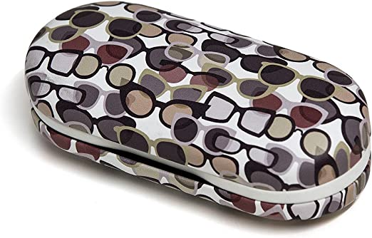 Balvi - Twin Estuche para Gafas y lentillas Blanco con Espejo Incorporado. Incluye Recipiente para lentillas, Dos frascos para líquidos y Pinzas.: Amazon.es: Hogar