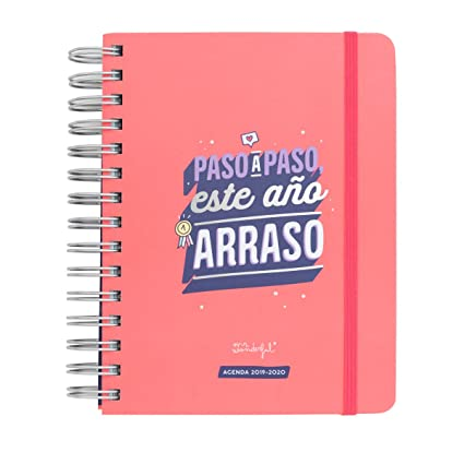 Mr. Wonderful 2019/20 Diario - Agenda Rotu