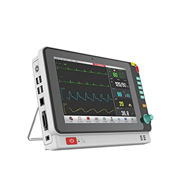 10 1 Inch Color Portable Patient Monitor with 6 Standard Parameter