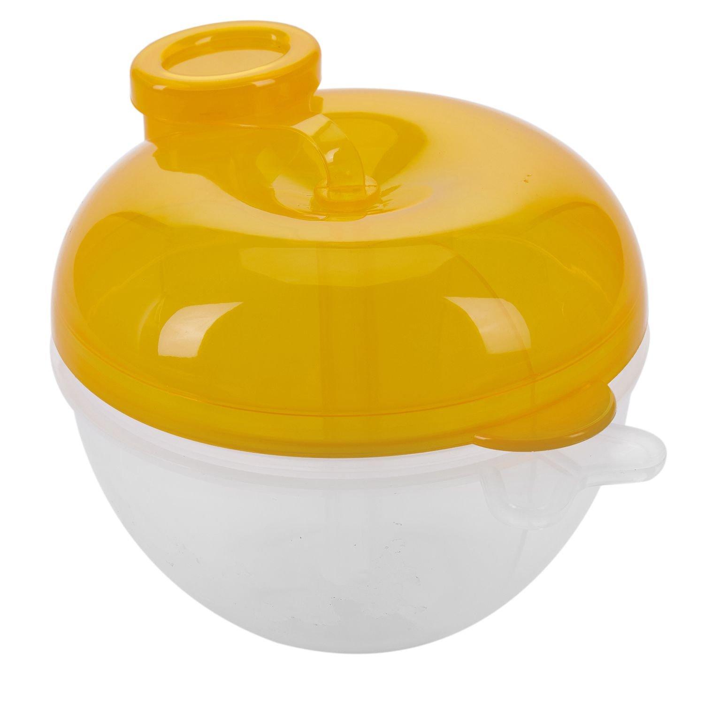 TOOGOO Formula dispensador, para no Derramamiento del bebe del dispensador de leche en polvo y Snack Copa, los alimentos para ninos contenedor de almacenamiento (rosa)