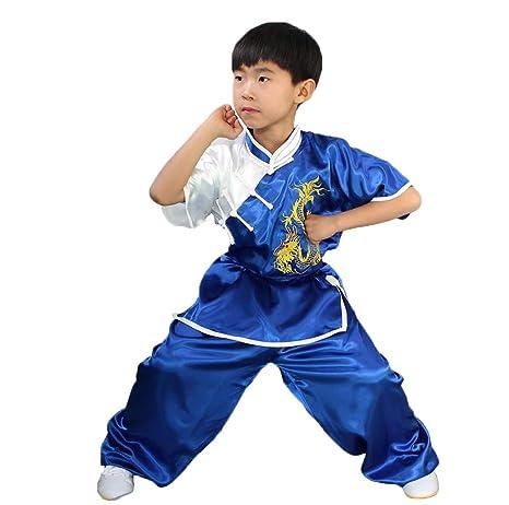 AMhuui Traje Tradicional Chino del Traje de Kung fu del niño ...