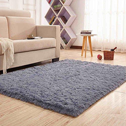 noahas super soft thick modern shag area rugs fluffy living room carpet comfy bedroom home. Black Bedroom Furniture Sets. Home Design Ideas