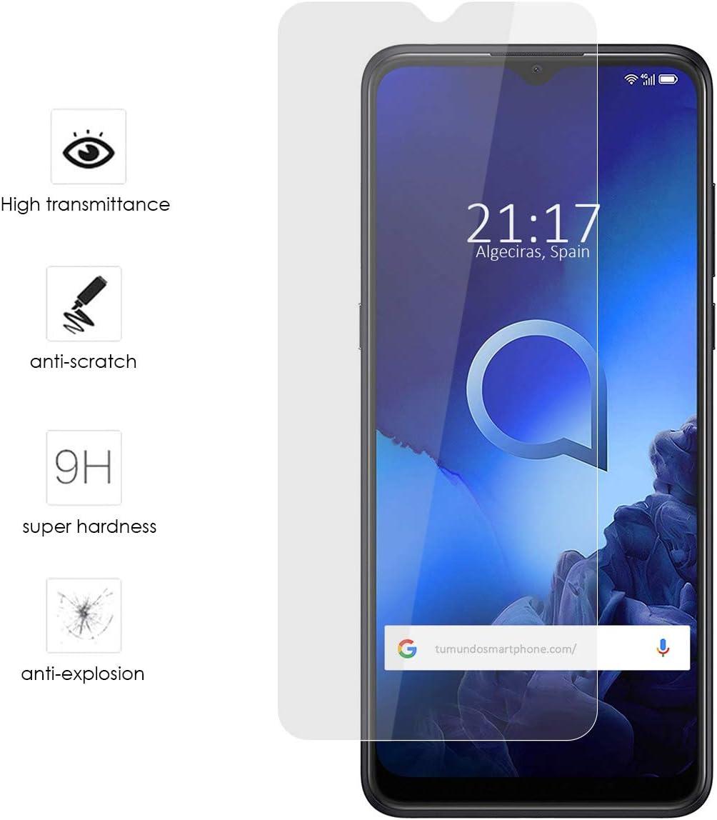 Protector Cristal Templado para Alcatel 3X 2020 Vidrio: Amazon.es: Electrónica