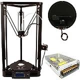 Anycubic Delta Rostock Imprimante 3D Kossel Diy Kit Grande taille d'impression φ230x270mm (Plus Version)