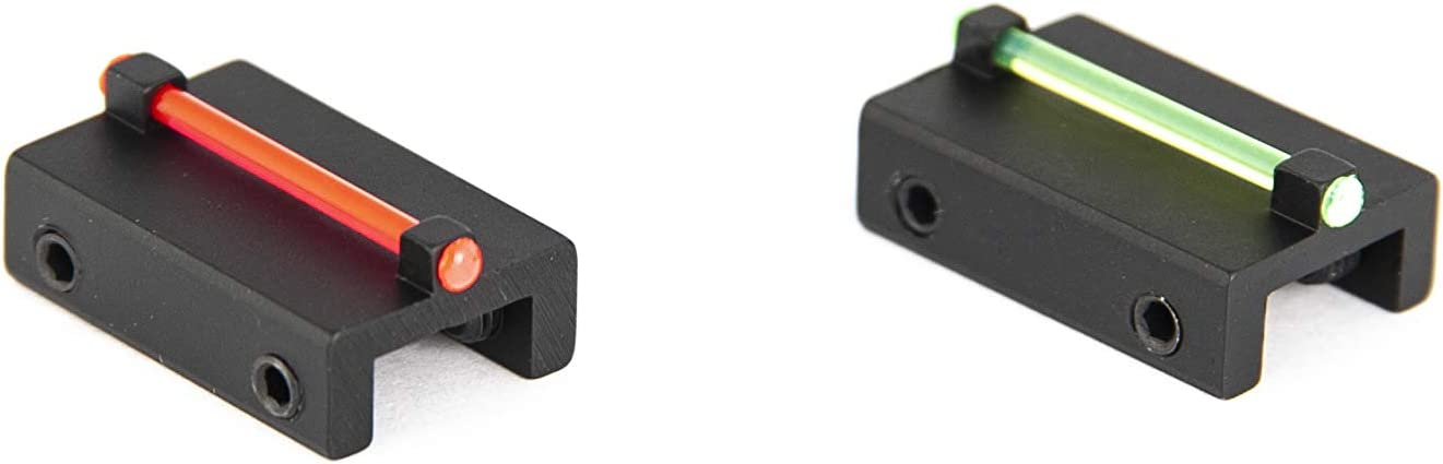 Toni system cod. MR8/MV8 Punto mira Fibra optica para Banda Escopeta ø1,5mm Rojo/Verde