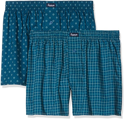 Azul Azul Abanderado 1iz70 Swim Boxer Estampado As00250 2 lote Hombres qq1nCO