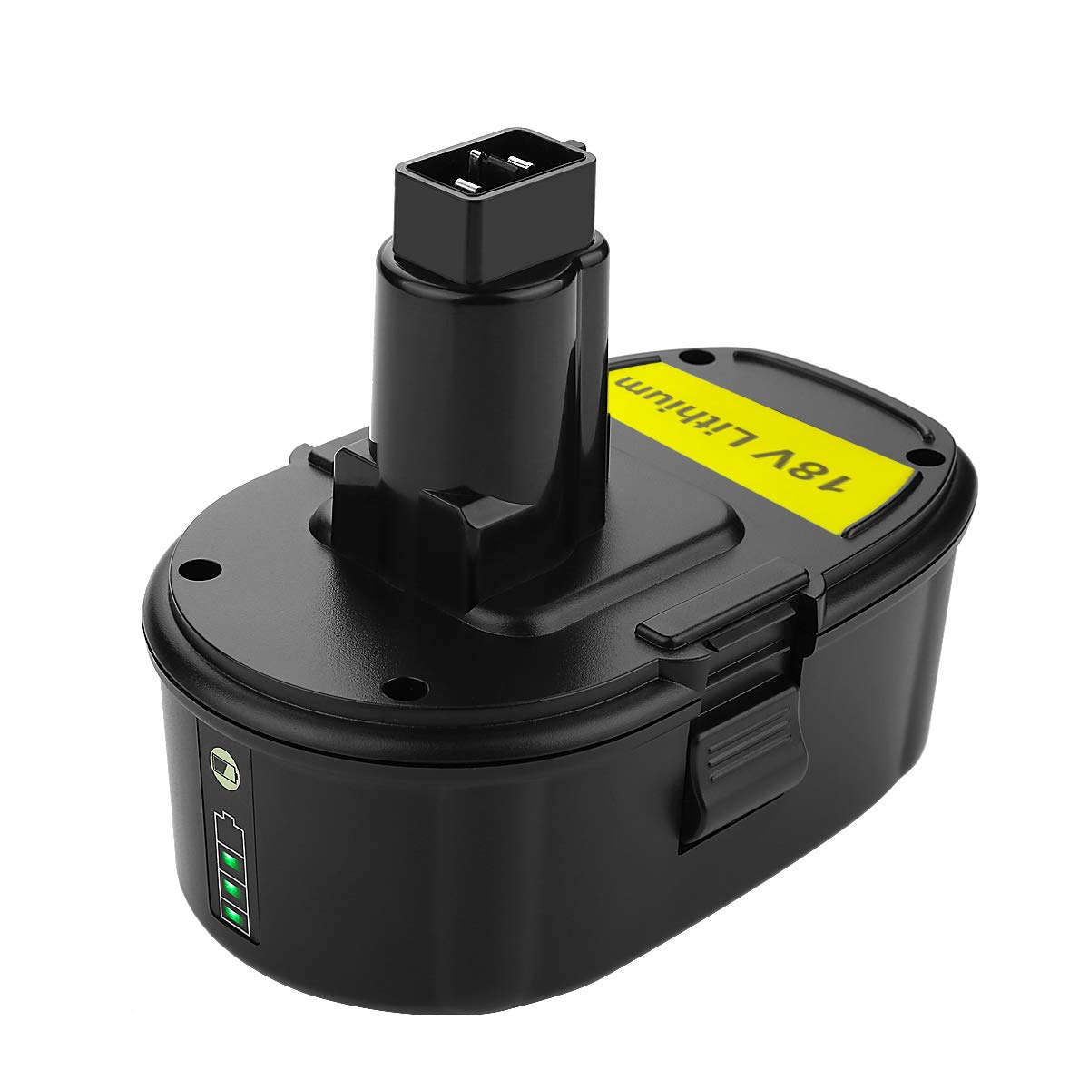 ANTRobut Replacement for Lith-ion DC9096 3000mAh 18V battery Replacement for Dewalt 18 volt XRP battery DC9096 DC9098 DC9099 DE9039 DE9095 DE9096 DE9098 DW9095 DW9096 Cordless Drill dewalt 18v Battery